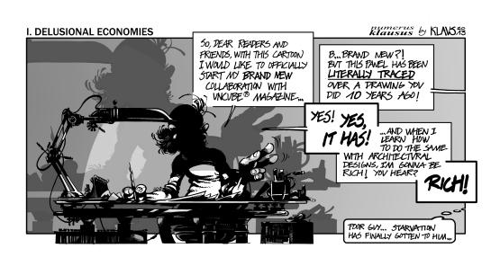 Klaus's Kube 01 Delusional Economies